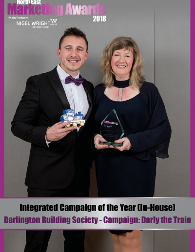 Integrated Campaign of the Year (In-House) - Darlington Building Society