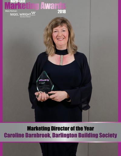 Marketing Director of the Year - Caroline Darnbrook, Darlington Building Society