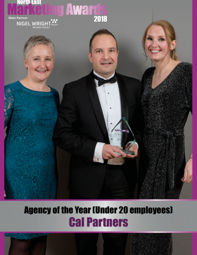 Agency of the Year (under 20 employees) - Cal Partners