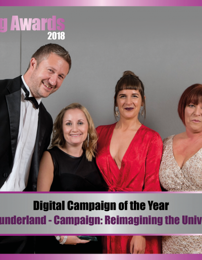 Digitial Campaign of the Year - University of Sunderland