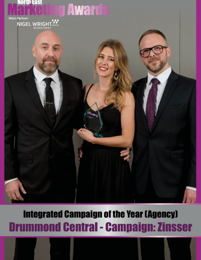 Integrated Campaign of the Year (Agency) - Drummond Central