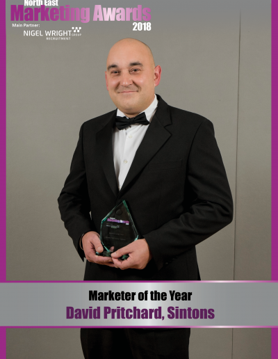 Marketer of the Year - David Pritchard, Sintons
