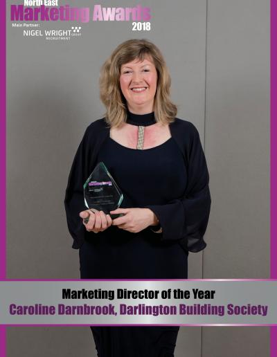 Marketing Director of the Year - Caroline Darnbrook, Darlington Building Society